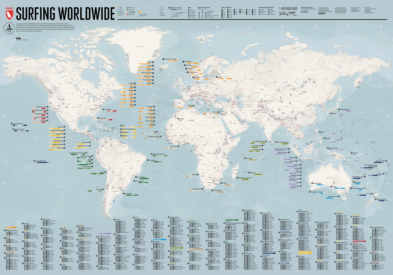 Surfing Worldwide Maps