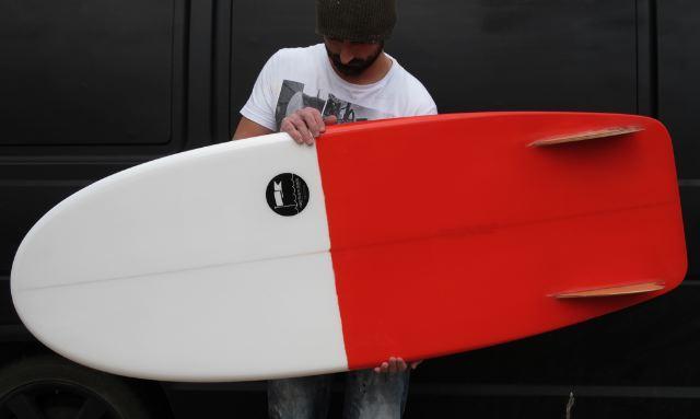 Rake Surfboards  interpretation of a beautiful looking mini. 4f78127fe9ef4