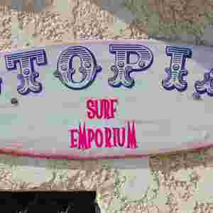Utopia Surfboards. Hand made is hand made.